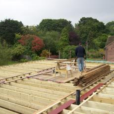 New steel and joists