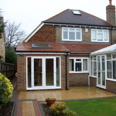 Single storey rear extension in bickley