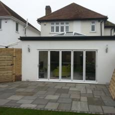 Rear extension in sidcup