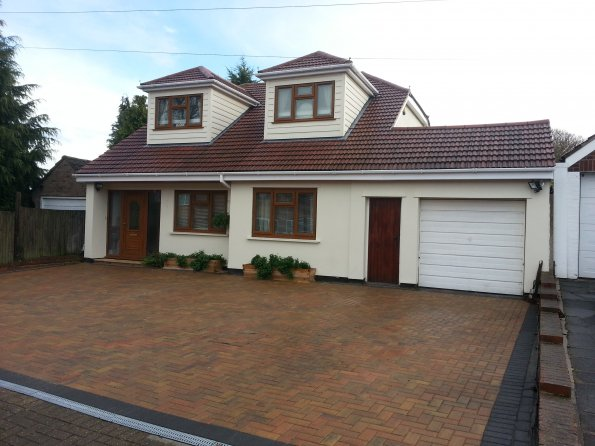 Gallery loft conversions bungalow converted to chalet for 4 bed new build house