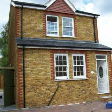 New build cottage in New Eltham